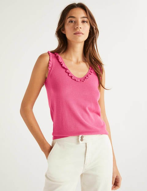 Chicester Frill Knitted Tank