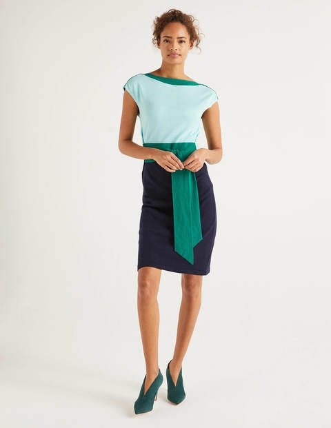 Vera Belted Knitted Dress