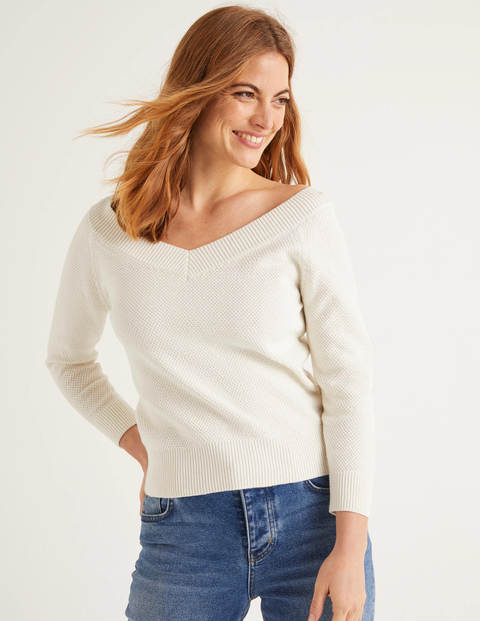 Bristol Textured Cotton Jumper