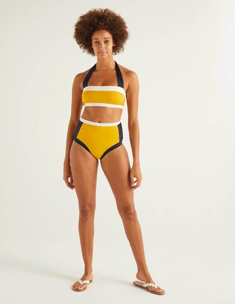 Santorini Hochgeschnittene Bikinihose