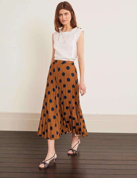 Fairfax Pleated Skirt