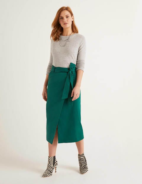 Pevensie Pencil Wrap Skirt
