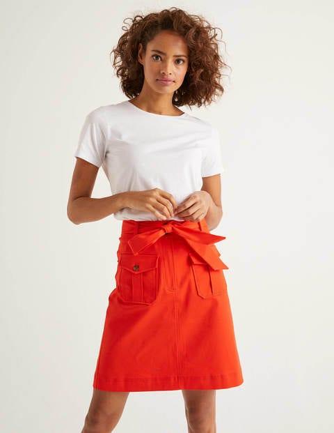 Jupe Cecily - Orange crépuscule