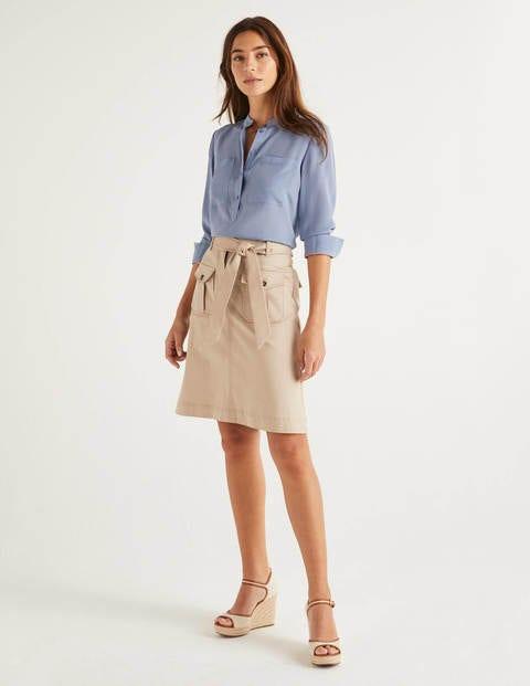 Cecily Skirt - Soft Stone