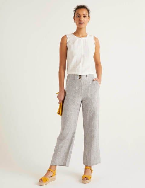 Filey Seamed Pocket Pants