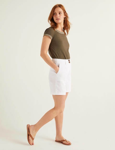 Filey Seamed Pocket Shorts