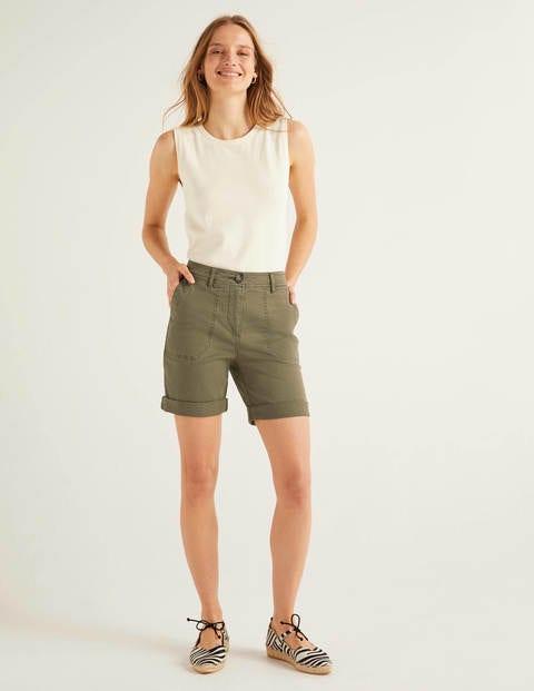 Walberswick Cargo Shorts - Classic Khaki