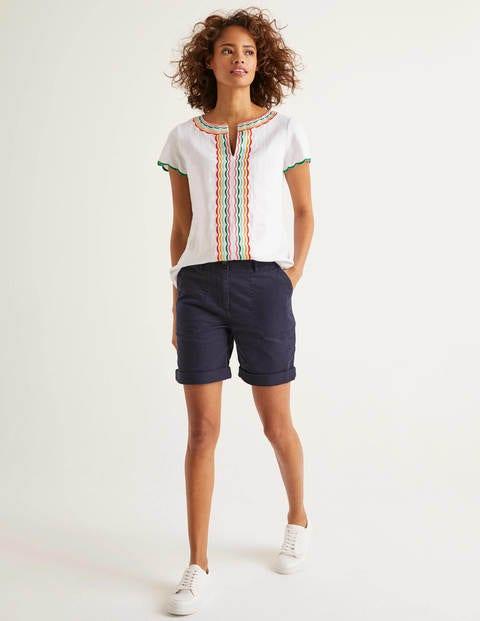Walberswick Cargo Shorts - Navy