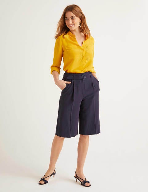 Hampton Shorts mit Gürtel