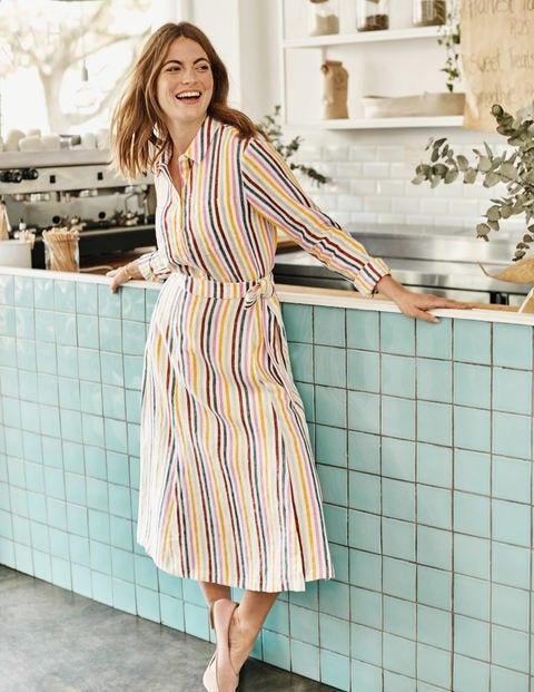 Radlett Linen Wrap Skirt