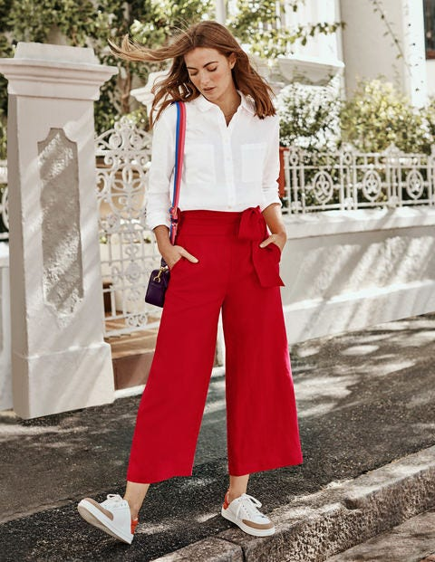 Weymouth Trousers - Red