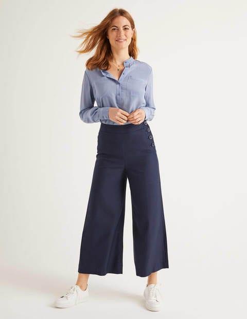Jupe-culotte Bray - Bleu marine