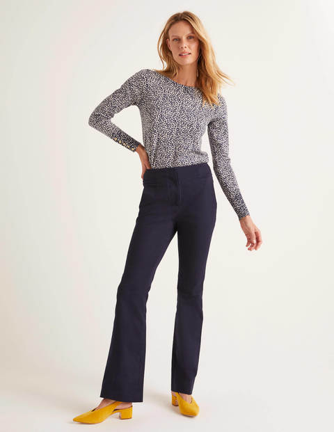 Westmoreland Bootcut Trousers - Navy