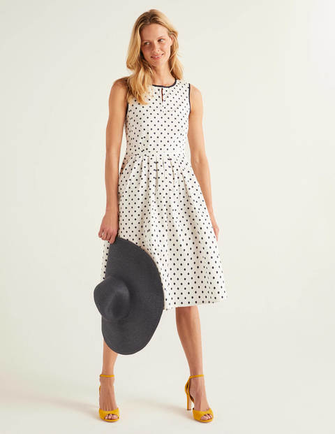 Maddie Dress - Ivory, Brand Spot