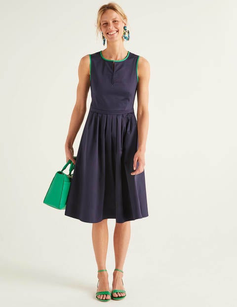 Maddie Dress - Navy