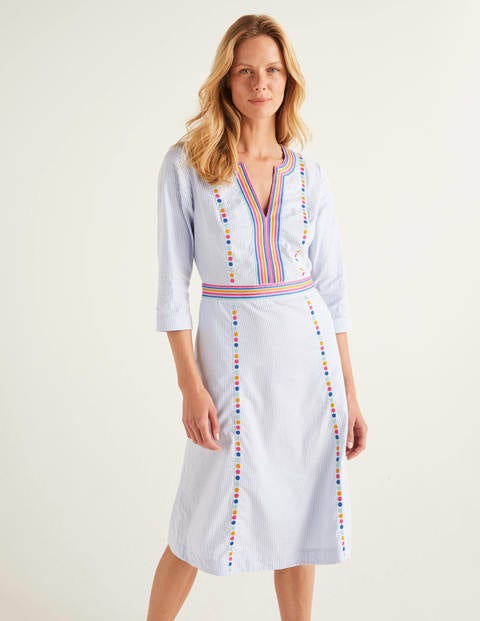 Catherine Embroidered Dress
