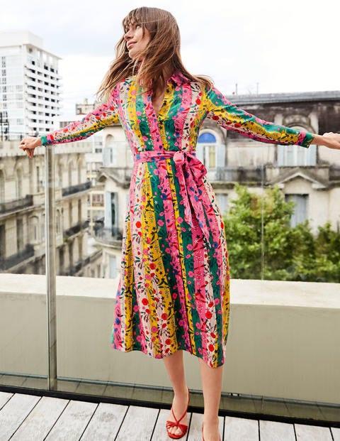 Orella Hemdblusenkleid aus Seide