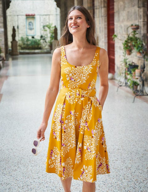 Winifred Dress - Tuscan Sun, Garden Dream