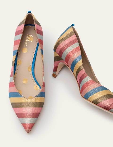 Clara Pumps - Bunt, Gestreift