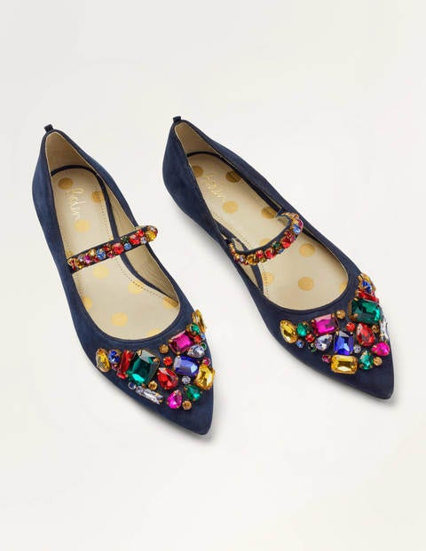 Amy Embellished Flats