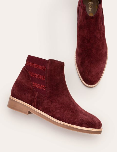 Burford Chelsea Boots - Oxblood