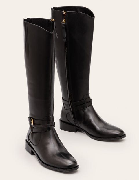 Pembroke Knee High Boots