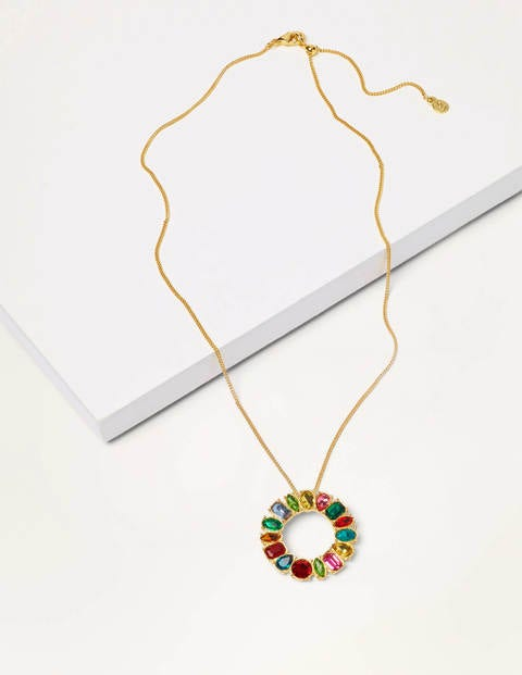 Jewelled Necklace - Multi