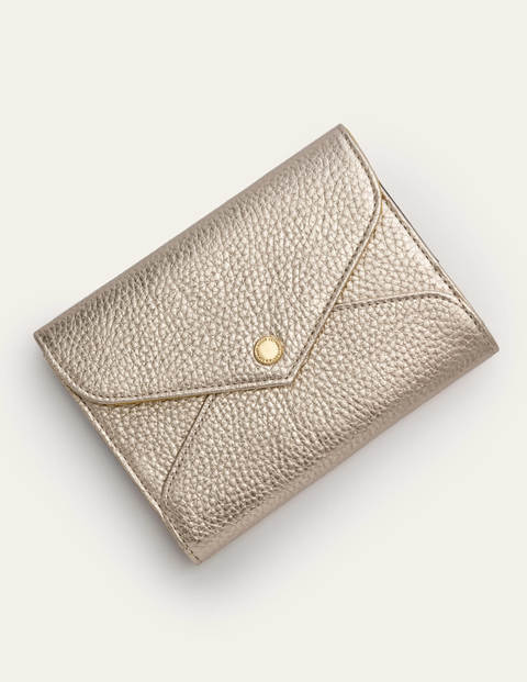 Passport Holder - Pale Gold