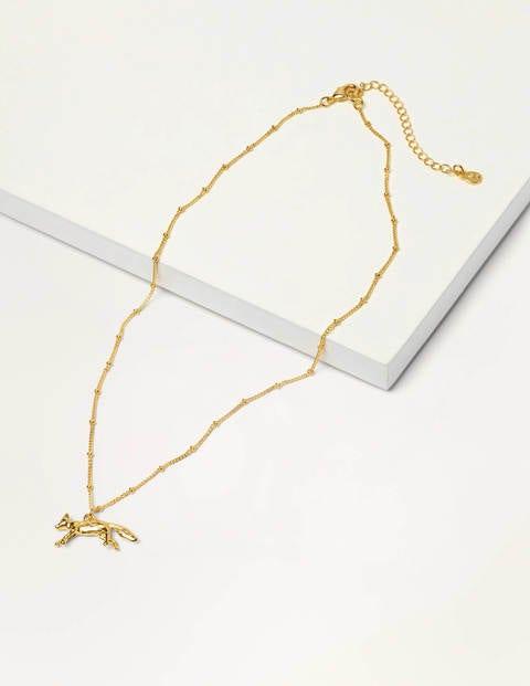 Collier pendentif animal - Renard