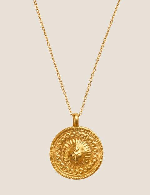 Goddess Charms Sun - Gold