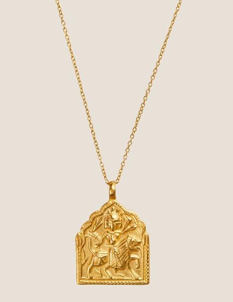 Goddess Charms Warrior - Gold