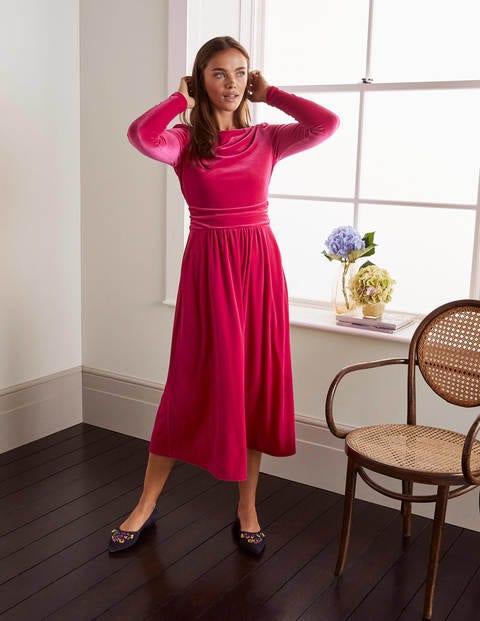 Lois Velvet Dress