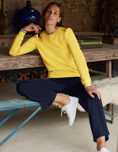 Puff Sleeve Sweatshirt - Canary
