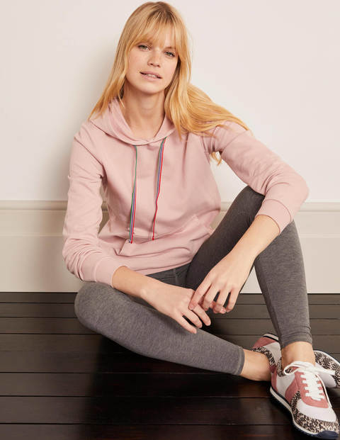 Oriel Hooded Sweatshirt - Milkshake