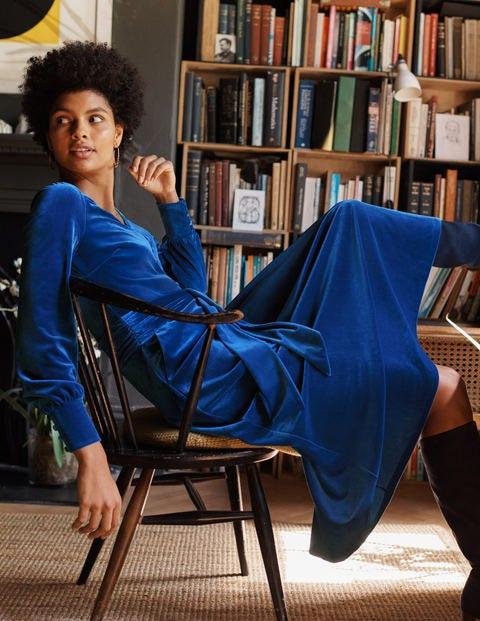 Rita Velvet Midi Dress