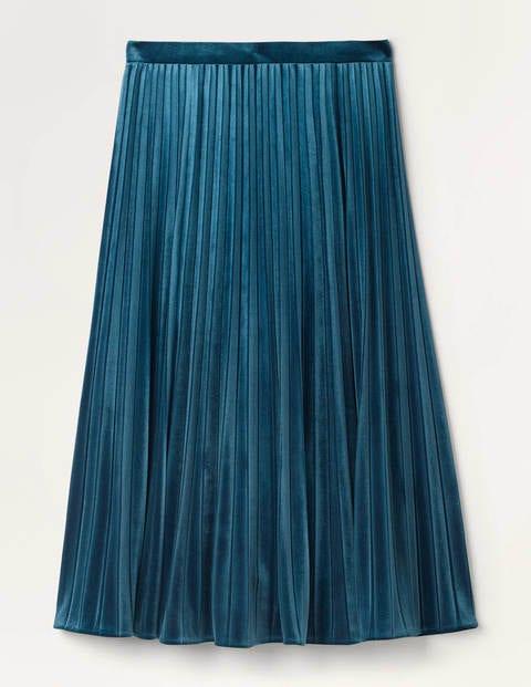 Roberta Velvet Skirt