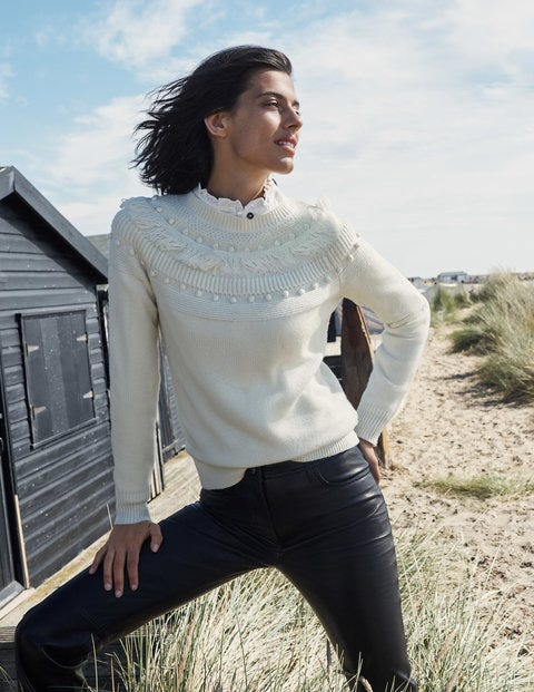 Normanton Textured Jumper