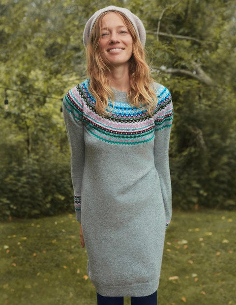 Frances Fair Isle Dress