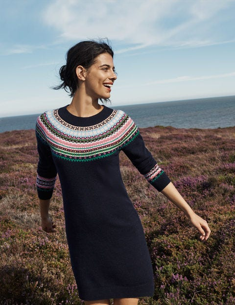 Frances Fair-Isle-Kleid