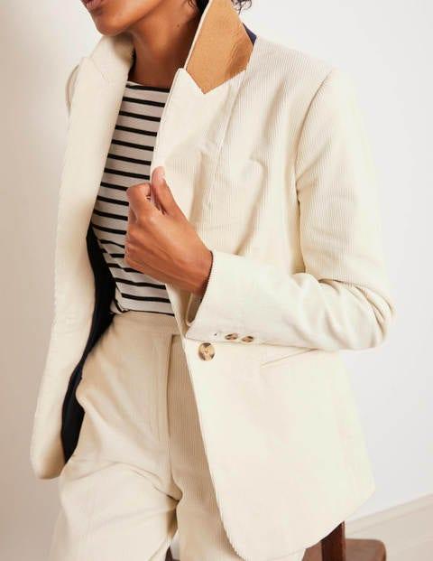 Vintage Black Corduroy 365 SUN SHINE Button Fitted Hip Length Jacket Blazer Size 8  36