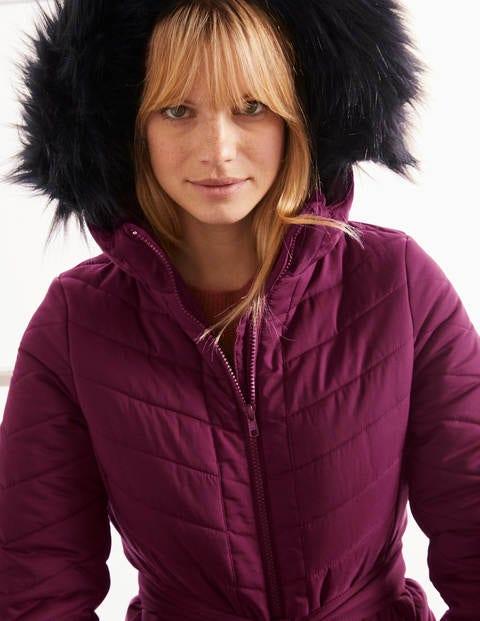 boden - Cranbrook Steppjacke Purple Damen , Purple