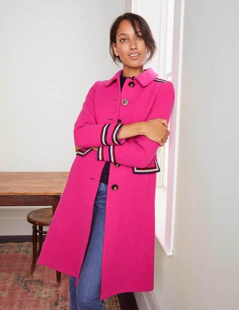 Middleham Trim Coat - Pink Flambé