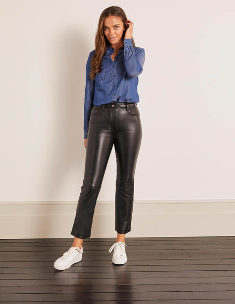Grosvenor Leather Trousers