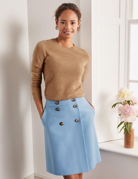 Eloise Mini Skirt - Frosted Blue