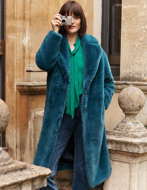 Kenilworth Faux Fur Coat
