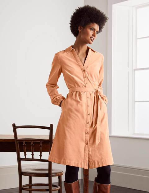 Olympia Shirt dress - Antique Pink