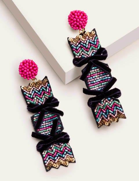 Christmas Sequin Earrings