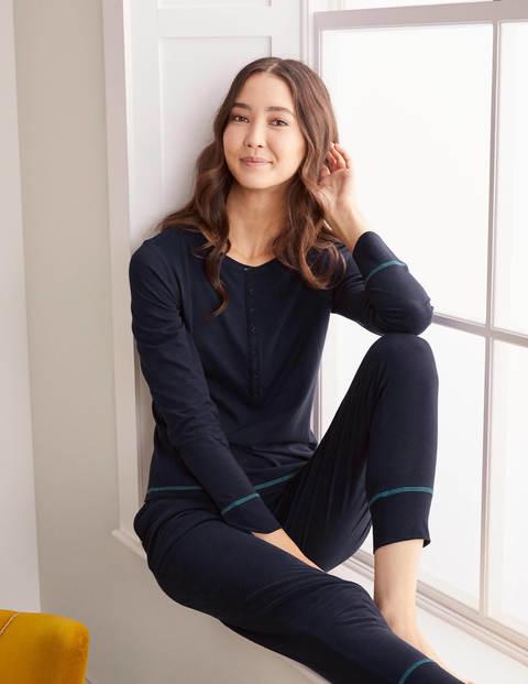 Alba Jersey Pajama Top