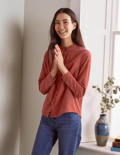 Margie Cord Shirt - Dusty Rose