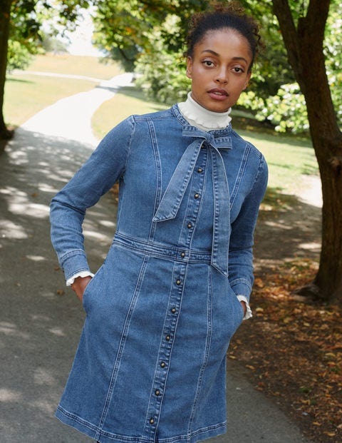 Elspeth Shirt Dress - Mid Vintage